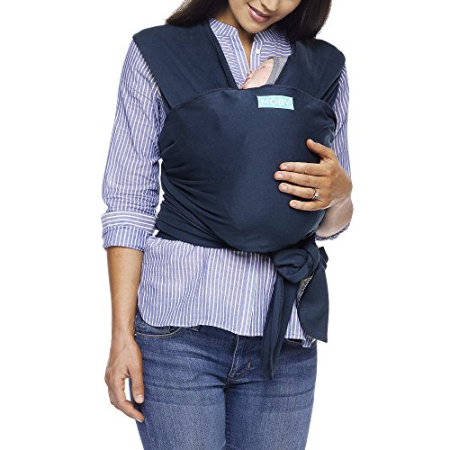 - Moby Classic Baby Wrap (Pacific) - Baby Wearing Wrap For Parents On The Go - Baby Wrap Carrier For Newborns, Infants, and Toddlers-Baby Carrying Wrap For Babywearing, Breastfeeding, Keeping Baby Close