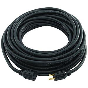 amazon com generac 6329 50 foot 30 amp generator cord nema generac 6329 50 foot 30 amp generator cord nema l14 30 ends for maximum 7 500 watt generators