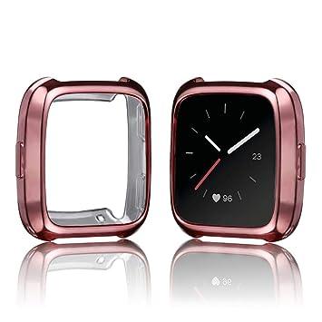 Protector para Fitbit Versa,☀️Modaworld Ultrafino TPU de ...