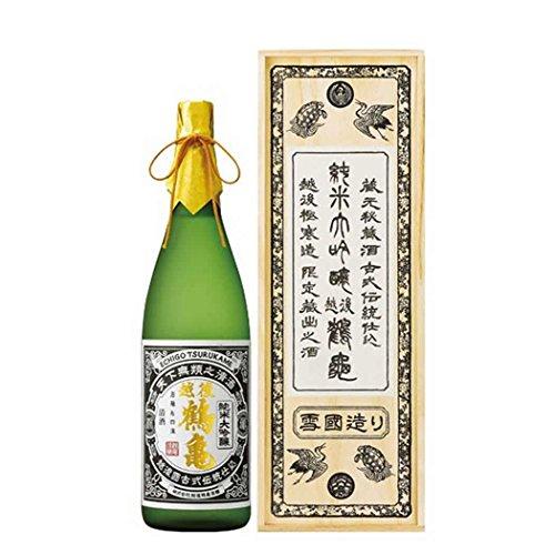 越後鶴亀 越後鶴亀 超特醸 純米大吟醸 1800ml-木箱仕様- 新潟 地酒