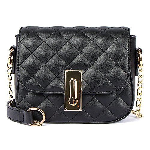 Chain And With Small Bag Rhombus Black Summer Bag Single Shoulder qHXCw5w7F