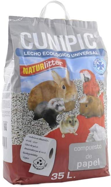 CUNIPIC NATPA35 Naturlitter Papel - 35 l