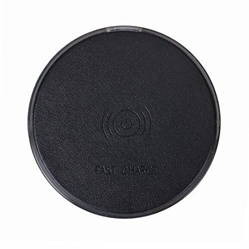 Cargador Inalámbrico Asnlove Quick Wireless Charger Pad Rápido Qi Wireless Carga para Samsung S6/S6 Edge LG Google Nexus 7/6/5/4 Nokia Blackberry Z30 Lumia y Dispositivo Android QI habilitado Color7