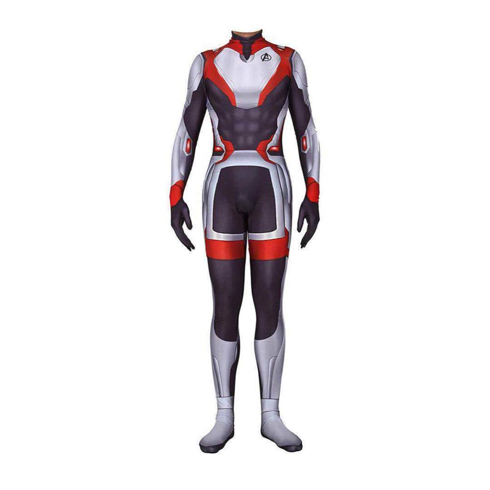 tienda en linea XL RHGZ RHGZ RHGZ Hombre Avenger EndJuego 3D Impreso Onesies Leotardo CosJugar Quantum Realm Hooded Maillot  para barato
