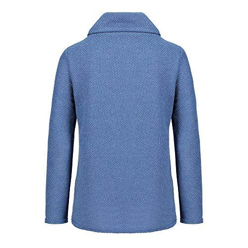 Longues Hellomiko Sweat Femme Manches Bleu qqxf8rEn
