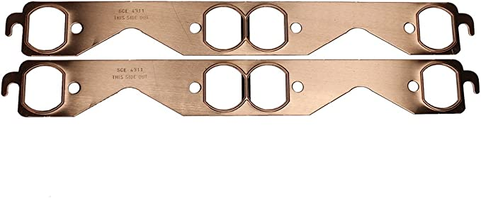 SCE Gasket 4211 Copper Exhaust Gasket Set