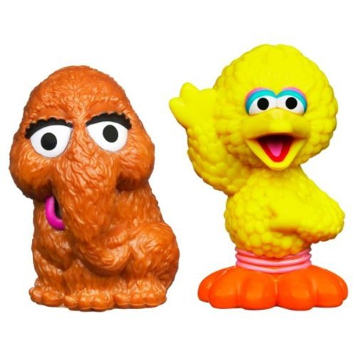 Sesame Street Toys : Sesame street figures big bird and snuffleupagus pack