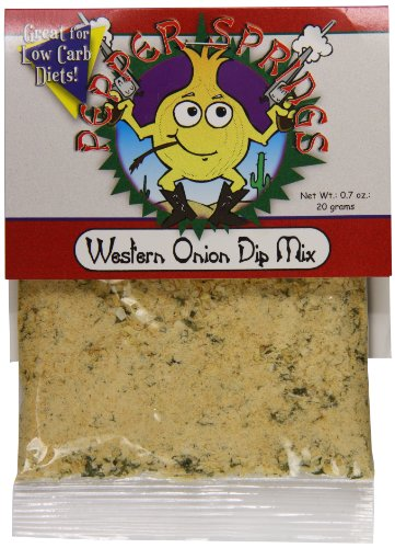 Mix Pepper Dip (Pepper Springs Western Onion Dip Mix, 0.7 Ounce)