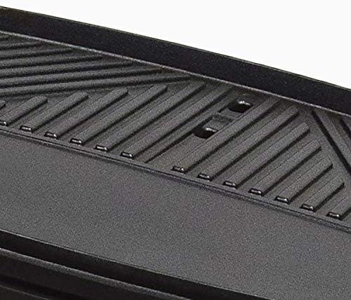 Ikohs R&B King Barbecue électrique d'extérieur avec pieds en acier inoxydable 2 000 W, thermostat réglable sur 5 puissances, grill 3 surfaces, facile à nettoyer, 38,1 x 43,2 x 82 cm