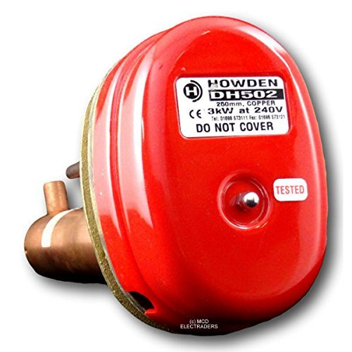 Howden DH502 Domestic Circulator Immersion Heater 3kW 6 Bolt 10 inch ** WILL BE DISPATCHED QUICKLY **