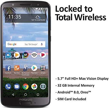 Total Wireless Motorola Moto G6 4G LTE Prepaid Smartphone (Locked) - Black - 16GB - Sim Card Included - CDMA WeeklyReviewer