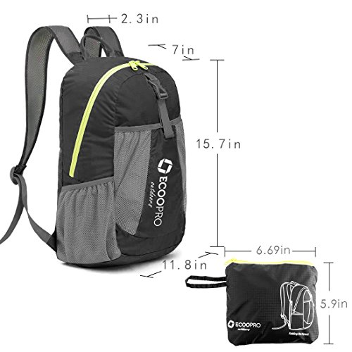 20L Lightweight Packable Backpack Hiking Daypacks Foldable Durable Waterproof Travel Daypack for Men Women and Teens