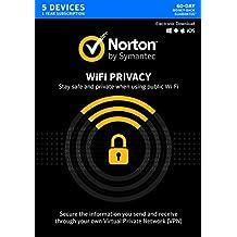 Norton WiFi Privacy VPN - 5 Devices [Key Card]