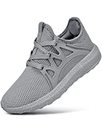 Child Kids Fashion Sneakers Ultra Lightweight Breathable Athletic Running Walking Casual Shoes Girls Boys