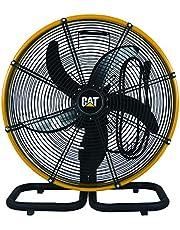 Caterpillar Oscillation Floor Fan, Black, HVODF-18S