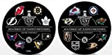 #8: The Hockey Company 2018 STANLEY CUP PLAYOFFS 1ST ROUND PUCK 16 PARTICIPANTS PLAYOFF PUCK ROUND 1 PRE-ORDER ITEM - SHIPPING BEGINS ON MAY 14TH