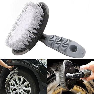 Auto Hub Wheel Tire Rim Scrub Brush Hub Clean Wash Useful Brush Car Truck Motorcycle Bike Washing Cleaning Tool 10