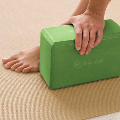 Gaiam Yoga Block, Apple Green