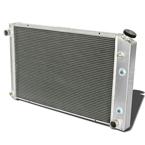 (CoolingCare 4 Row Core Aluminum Radiator for 1973-1991 Chevy C10 C20 C30 Pickup Truck V8)
