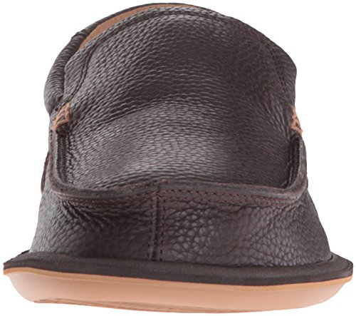 Mocassino Da Uomo Sanuk Mens Deluxe Slip-on Marrone Scuro