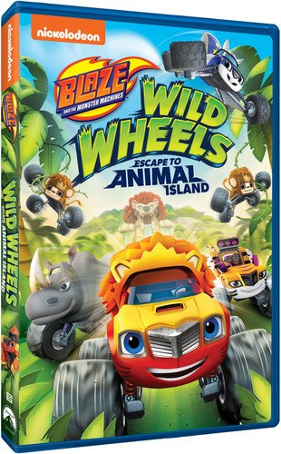 Blaze and the Monster Machines: Wild Wheels Escape to Animal Island]()