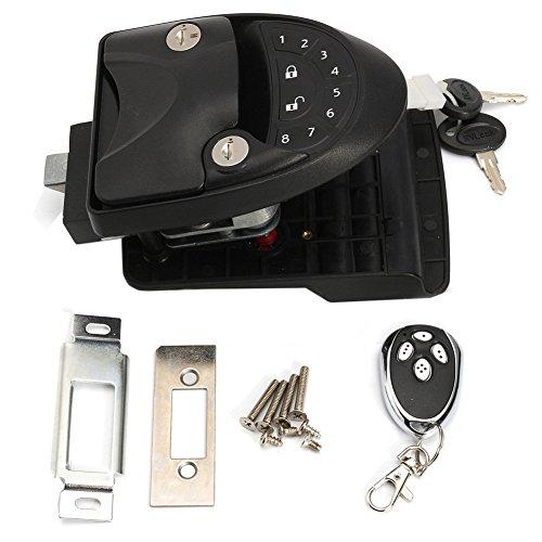 RV Keyless Entry Door Lock Latch Handle Knob Deadbolt Caravan Trailer & Camper Black by ExGizmo (Image #5)