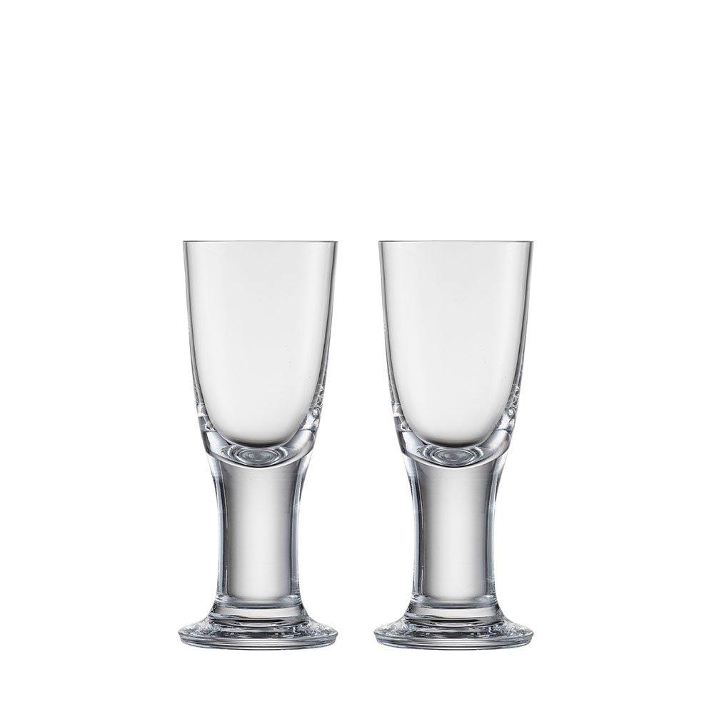 Clear Eisch 25820170 Liz Handmade Lead-Free Crystal Vodka Glass Set Of 2 4.9 oz