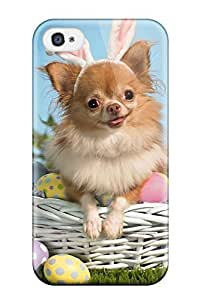 New Shockproof Protection Case Cover For Iphone 4/4s/ Happy Puppy Bunny Case Cover