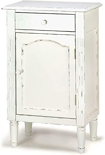 Smart Living Company GRACEFUL ANTIQUED CABINET, Multicolor