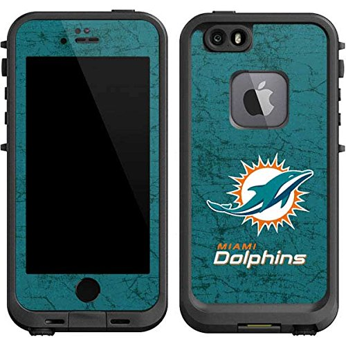 Miami Dolphins Football Case (NFL Miami Dolphins LifeProof fre iPhone 6/6s Skin - Miami Dolphins Distressed- Aqua)