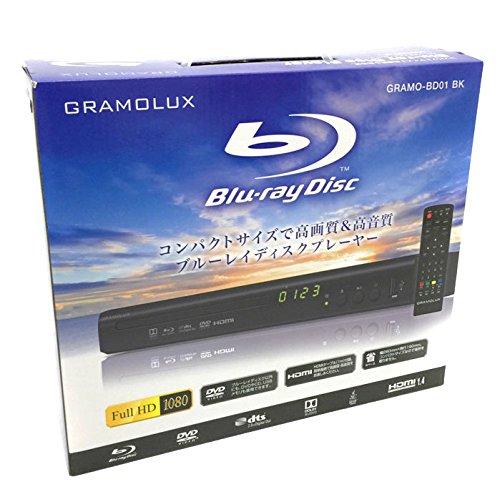 【GR】BD01 BK/ブルーレイディスクプレーヤー 黒