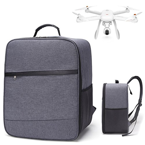 Leewa Outdoor Shockproof Backpack Shoulder Bag Carry Bag For XIAOMI Mi Drone 4K 1080P FPV RC Quadcopters (Gray) by Leewa
