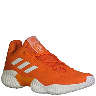 be3aff27 Amazon.com | adidas Men's Pro Bounce 2018 Low Basketball Orange ...