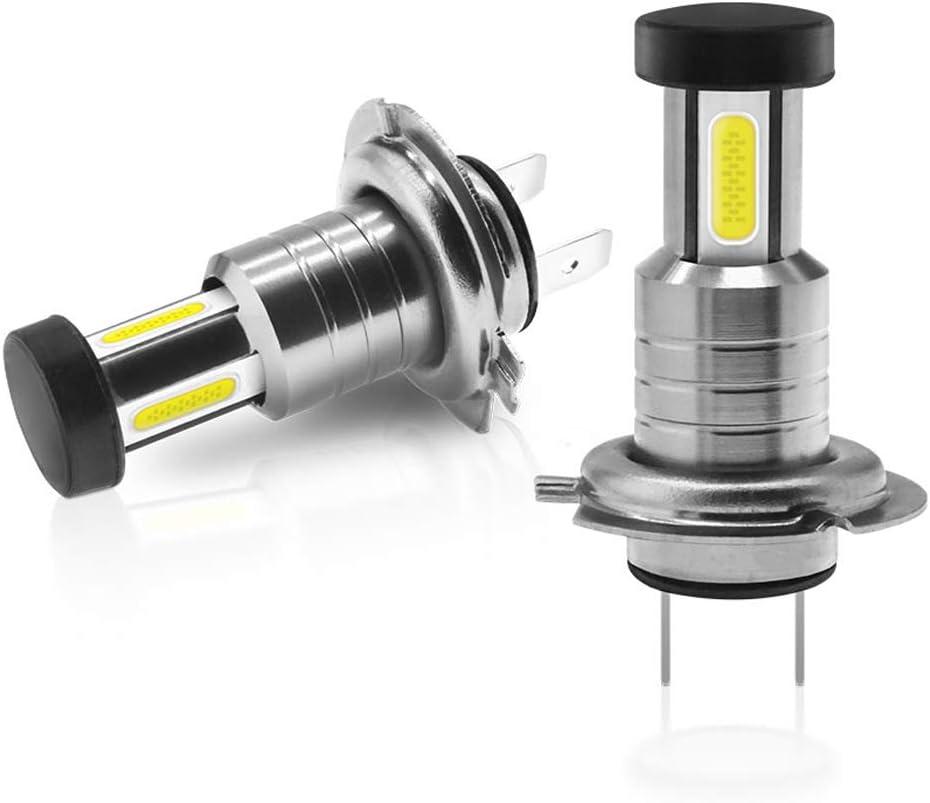 TXVSO 110W 26000LM H7 Kit de faro LED para automóvil 3 lados 6000K Lámparas blancas, 55W / Bombilla, 2pcs / Set, Reemplazo para luces halógenas y de xenón o luces bajas