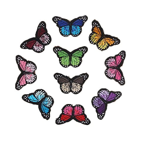 Iron Appliques Monarch Butterfly Patch product image