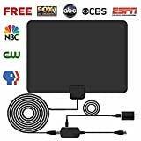 Best 4 K T Vs - HDTV Antenna,Pendoo Indoor Amplified Digital TV Antenna 50 Review