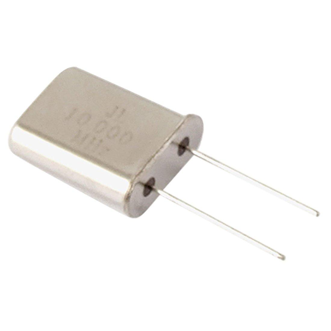 Crystal Oscillator - SODIAL(R) 10 x 10.000 MHz 10 MHz Crystal Oscillator HC-49U Low Profile
