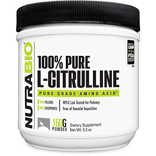 NutraBio L-Citrulline Powder - 150 Grams
