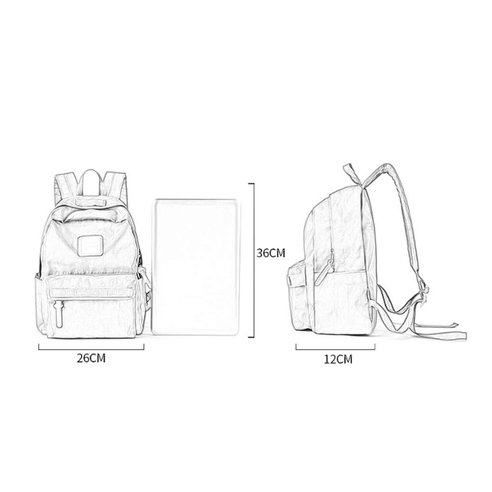 bdc3263af75c Amazon.com: Backpack Simple Wild Campus Backpack Spring and Summer ...