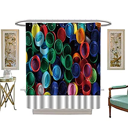 Amazon com: Shower Curtains Digital Printing Recycled