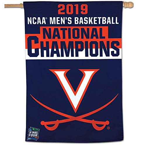 WinCraft Virginia Cavaliers College Basketball 2019 National Champions House Flag