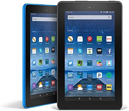Fire Tablet Variety Pack, 16GB - Includes Special Offers (Black/Blue)
