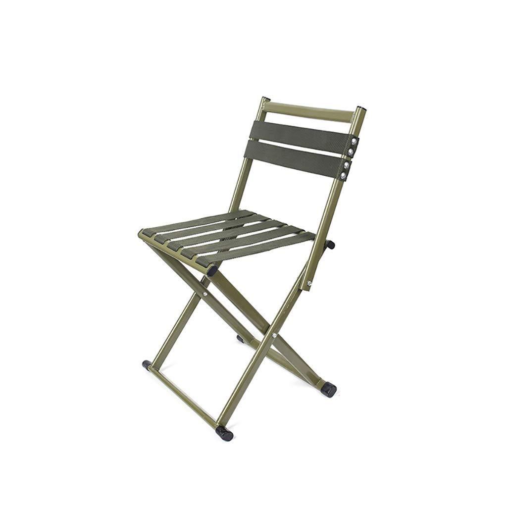 B L FS Chaise De Camping Légère, Chaise De Pliage épaisse De Maison De Tabouret Se Pliante De Tabouret De Pêche Portatif De Trois Couleurs Facultative