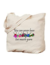 CafePress - Yarn - Natural Canvas Tote Bag, Cloth Shopping Bag