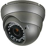 Anpviz Analog CCTV Camera HD 1080P 4-in-1(TVI/AHD/CVI/CVBS) Security Dome Camera, 2.8mm-12mm Varifocal Lens, True Day & Night Monitoring IP66 (Black)