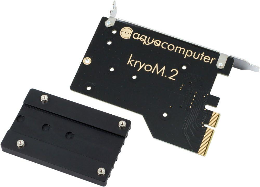 Aqua Computer 53223 Panel bahía Disco Duro - Drive Bay Panel (126 ...