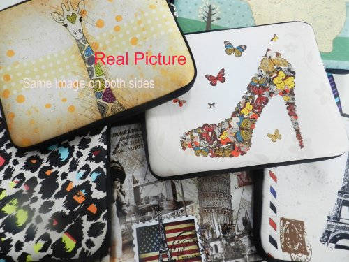 Giraffe Universal 10'' Sleeve Case Bag Cover For 9.7'' 10.1 10.2'' in Netbook Laptop Tablet,Samsung Galaxy Note 10.1'' Tablet PC,10'' Laptop Google Android 4.0 Netbook,HP Dell Acer iPad Air 5/4/3/2/1 Tablet,HP Sony Asus Dell Inspiron Mini,ASUS Transformer Boo