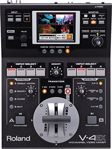 Roland V-4EX Four Channel Digital Video Mixer Effects Touch Control