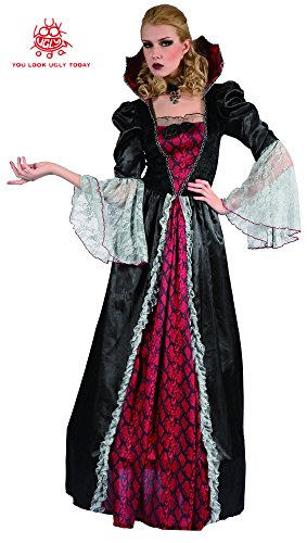 Halloween Fairytale Costumes (YOU LOOK UGLY TODAY Women's Fairytale VAMPIRESS Halloween Party Costume Dress -Large)