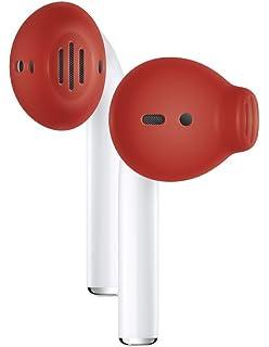EarSkinz AirPods Cubiertas (ES3) - Rojo - para Apple AirPods
